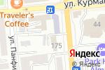 Схема проезда до компании Trust в Алматы