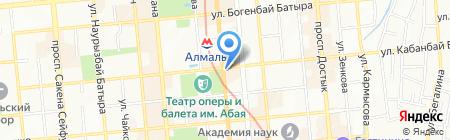 Missoni на карте Алматы