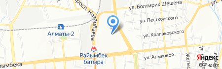 Эврика на карте Алматы