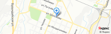 Зенит на карте Алматы