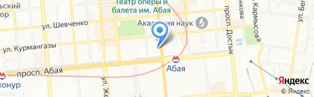Kasean на карте Алматы