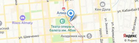 Статус-А на карте Алматы