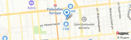 AGA Казахстан на карте Алматы
