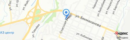 Стиль парикмахерская на карте Алматы