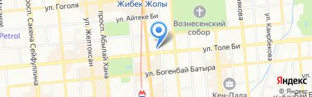 Академия ортопедии на карте Алматы