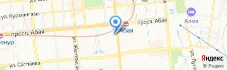 Иришка на карте Алматы