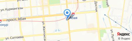 Саулет на карте Алматы