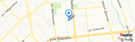Бакырчикское горнодобывающее предприятие на карте Алматы