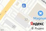 Схема проезда до компании Yokohama в Алматы