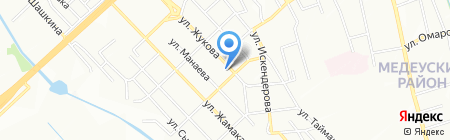 Мимино на карте Алматы
