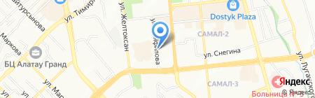 Бургер Сити на карте Алматы