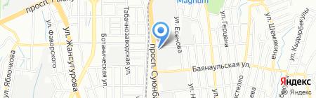 ARDON на карте Алматы