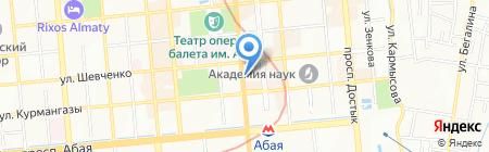 Bellissima на карте Алматы