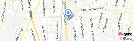 Фаиза на карте Алматы