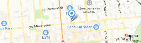 GREENMart на карте Алматы