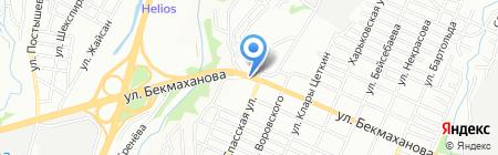 Татьяна продовольственный магазин на карте Алматы