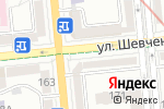 Схема проезда до компании Coffee & Toffee в Алматы