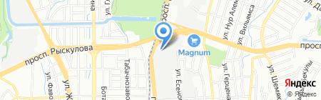 Офис Дом.kz на карте Алматы