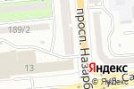 Схема проезда до компании Kaleidoscope Production в Алматы