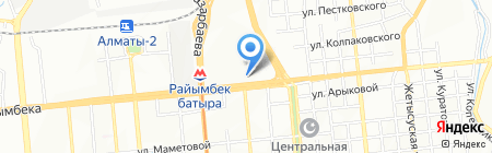 Б`юти на карте Алматы