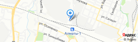 Магазин овощей и фруктов на карте Алматы