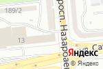 Схема проезда до компании Grand Ways International в Алматы