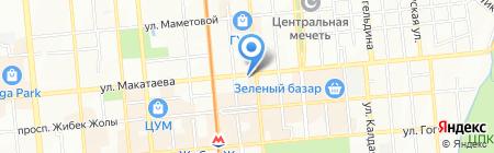 Salta на карте Алматы