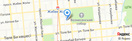 1st Money Company на карте Алматы