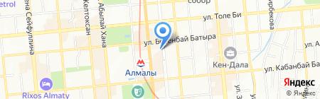 А-дом на карте Алматы
