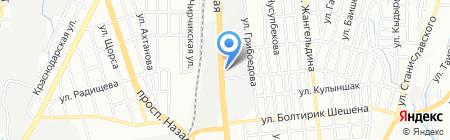 Любимый продовольственный магазин на карте Алматы