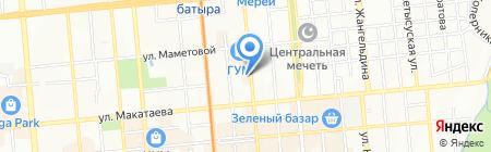 Брадобрей на карте Алматы