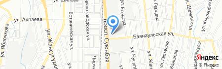 Toyota Center Almaty на карте Алматы