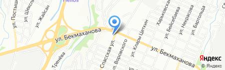 Пышшка на карте Алматы