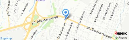 Свеже-Маркет на карте Алматы