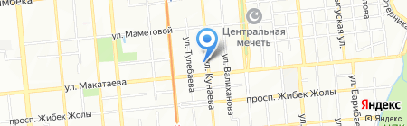 Национальная Оценочная Компания на карте Алматы