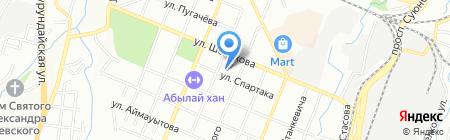 Общеобразовательная школа №59 на карте Алматы