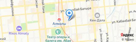 Информационно-внедренческая фирма на карте Алматы