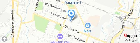 Vizantia на карте Алматы