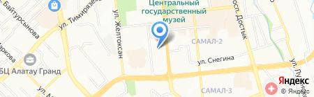 SERVER на карте Алматы