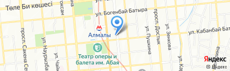 Kids Smile на карте Алматы