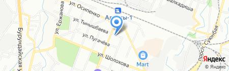 Шыгын на карте Алматы