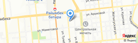 STI Logistics на карте Алматы
