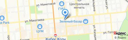 Ma Baker на карте Алматы