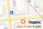 Схема проезда до компании Французский дом в Алматы
