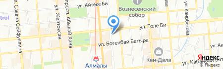 Англо-Казахский Центр на карте Алматы