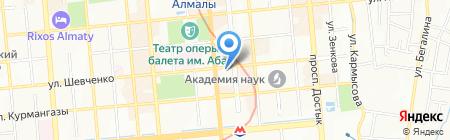 Glen на карте Алматы