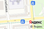 Схема проезда до компании Swarovski в Алматы