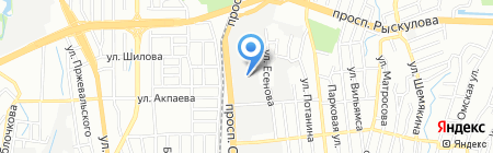AK Cent Microsystems на карте Алматы