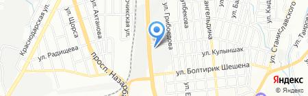 Астрон на карте Алматы