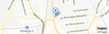 КСС-3 на карте Алматы